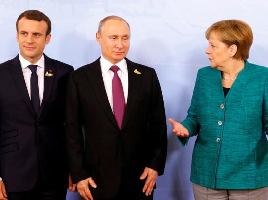 Гібридна дружба: як Німеччина і Франція намагаються не сваритись з Росією, навіть попри санкції