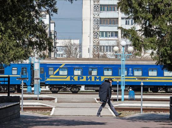 Окупований Крим в умовах санкцій і блокади в 2014-2016 роках: Кримська залізниця