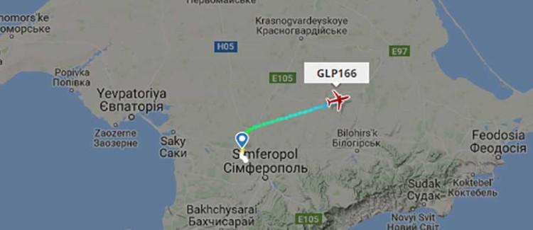 Російські авіакомпанії, що літали до окупованого Криму у 2017 році - підсумки
