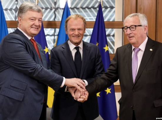 Поддержка Украины со стороны ЕС и НАТО