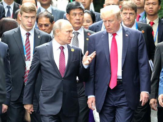 Трамп воюет со своими союзниками – это на руку России