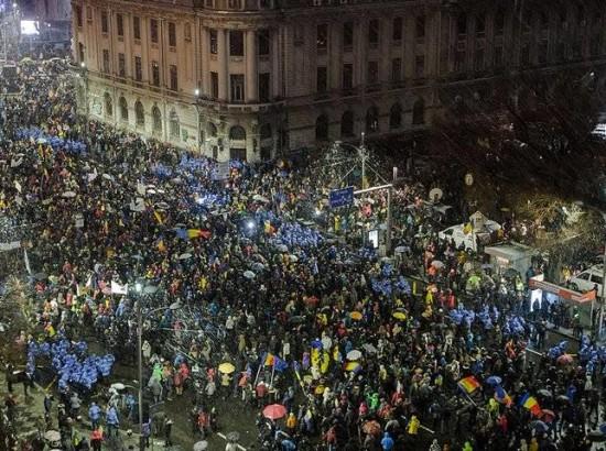 Румунія протестує проти узурпації влади