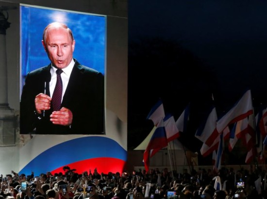 Результаты «выборов» в оккупированном Крыму