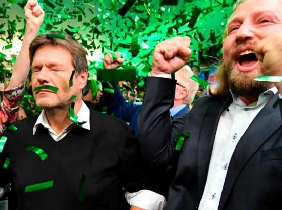 Європейські «зелені» приходять на зміну центристам