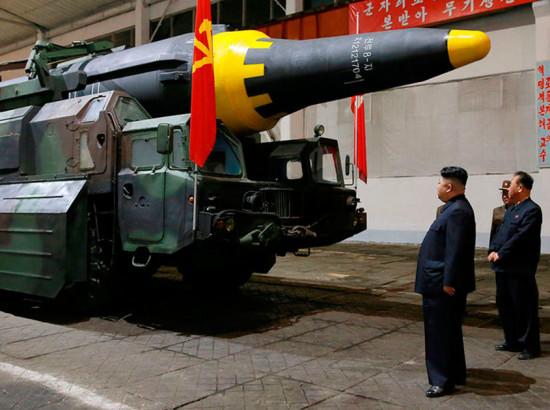 Взаємні військові погрози США та КНДР