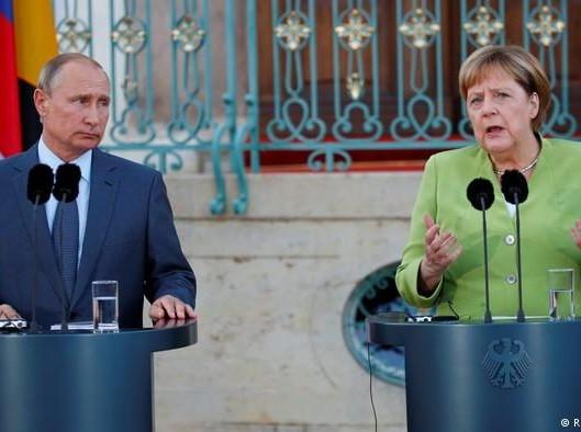 Північний потік-2, зустріч Меркель та Путіна, Мінські домовленості