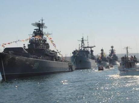 Преимущество России над украинскими ВМС на море