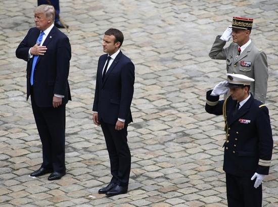 Візит Трампа до Франції: забагато символіки, замало змістовності