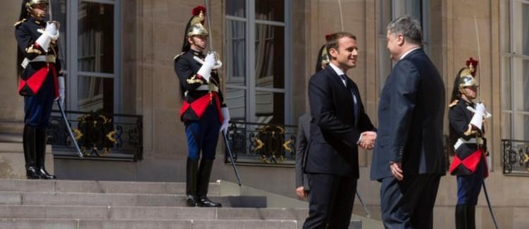 Встреча Порошенко с Макроном: в главном вопросе все очень запутано