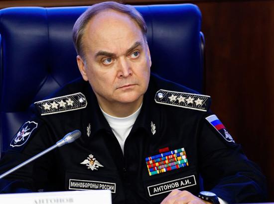 Who is містер Антонов?